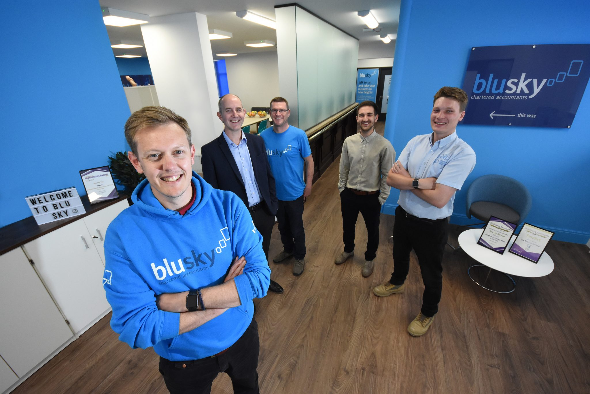 Blu Sky team expands with new hires and internal promotions