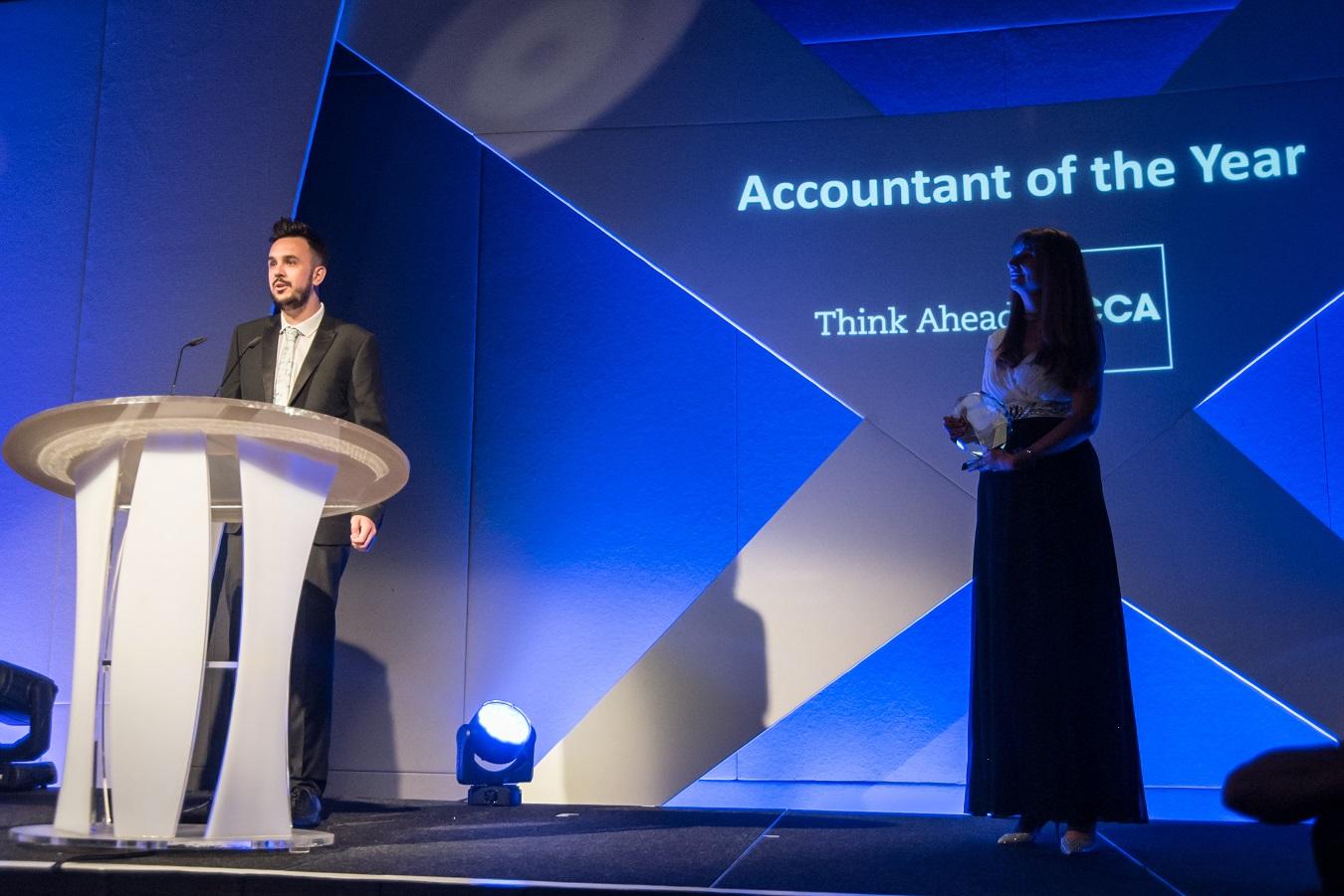 Winner! Accountant of the Year